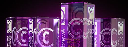 Three Golds for MyCSP at Corporate Content Awards