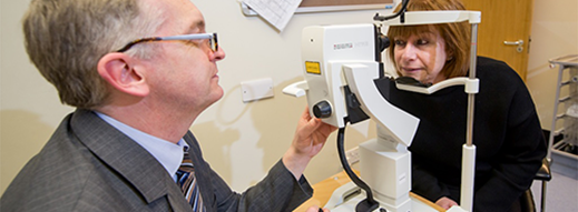 MyCSP sees eye to eye with St Paul's Eye Unit and donates £850 towards ground-breaking eye research