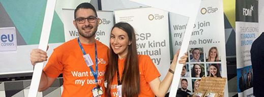 MyCSP blossoms at Spring Fair
