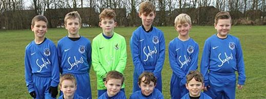 Local under 9's football team receives donation from MyCSP for upcoming tournaments